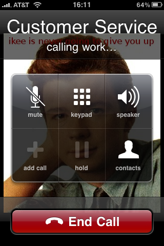 OSX/RRoll.A-B during call image